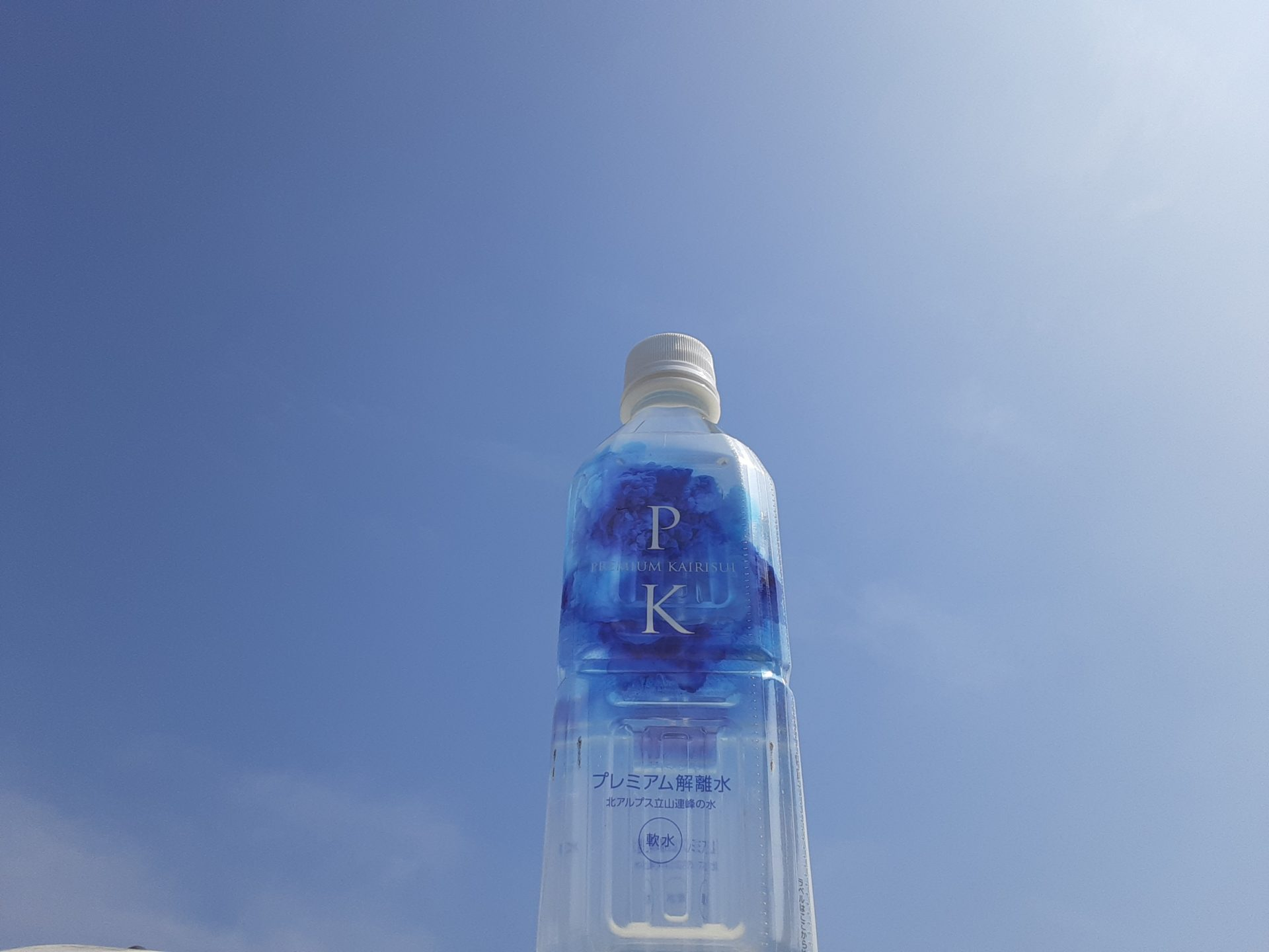 プレミアム解離水を関目成育駅から徒歩1分、でっかい包丁が目印の割烹<一本勝ち>さんに置かせて頂きました!