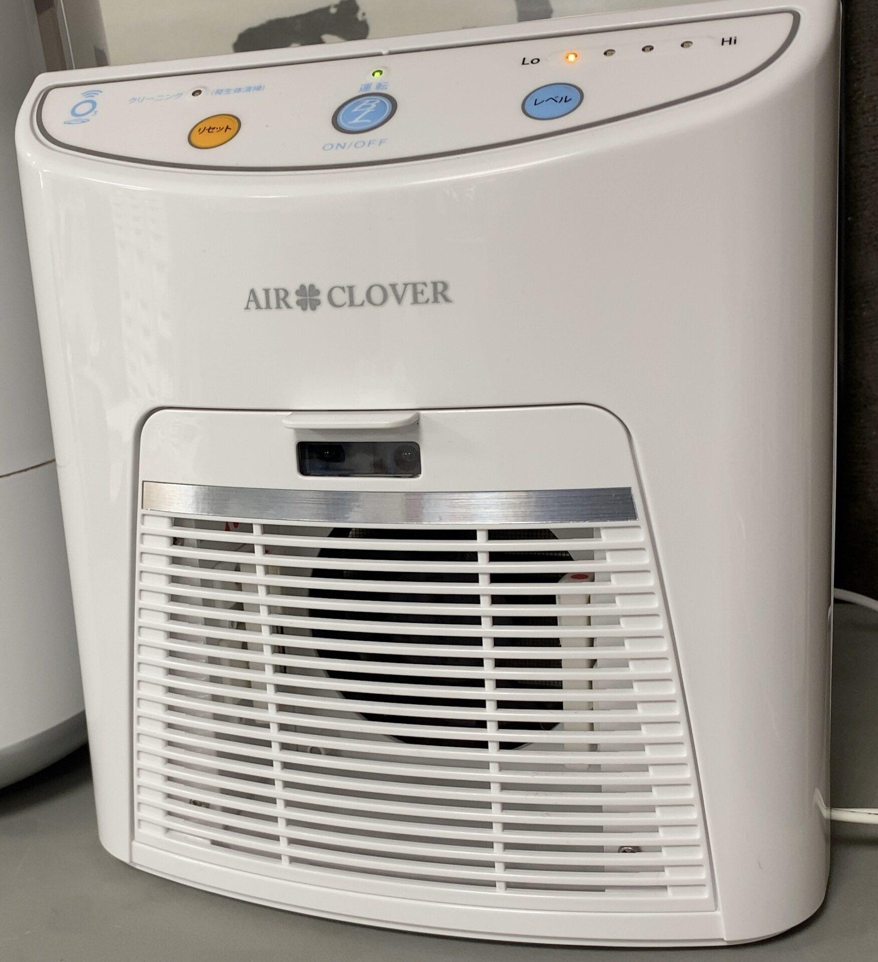 オゾン脱臭器を導入!50畳まで対応しているので銀イオンと併用で事務所内は安心空間!