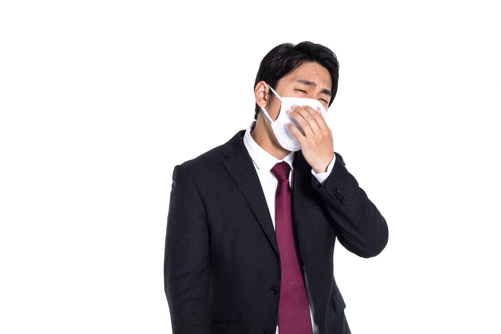 装着中のマスクを触るというリスクを銀イオンの抗菌作用にて回避!
